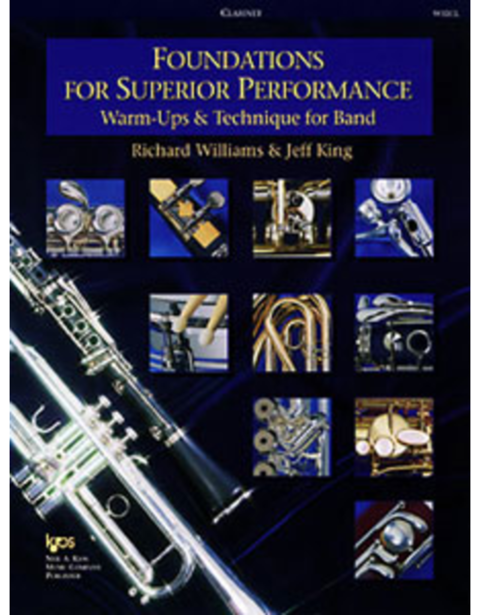 Kjos Foundations for Superior Performance, Clarinet