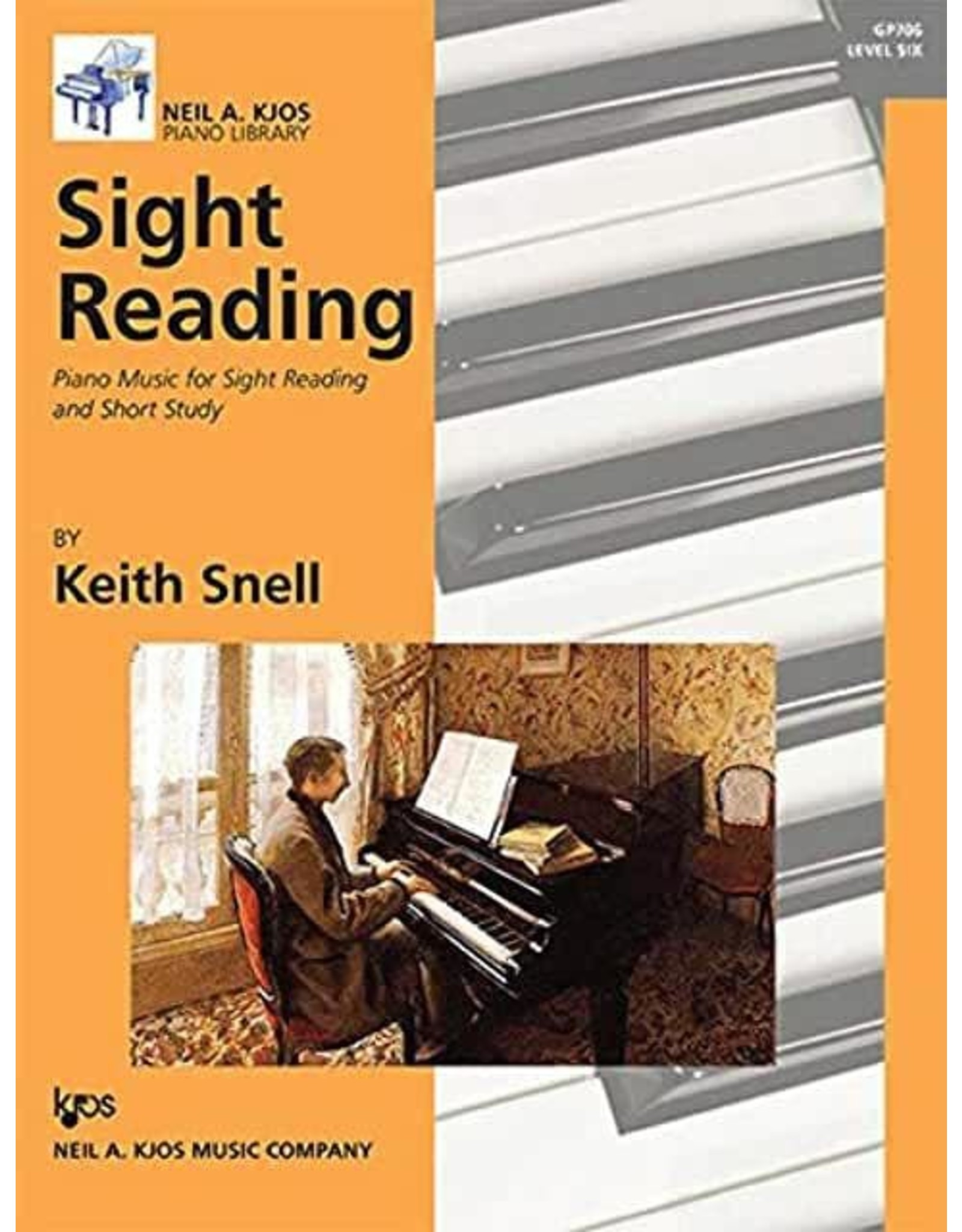 Kjos Sight Reading by Keith Snell Level 6