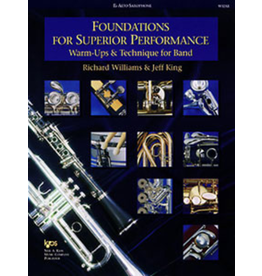 Kjos Foundations for Superior Performance, Alto Sax