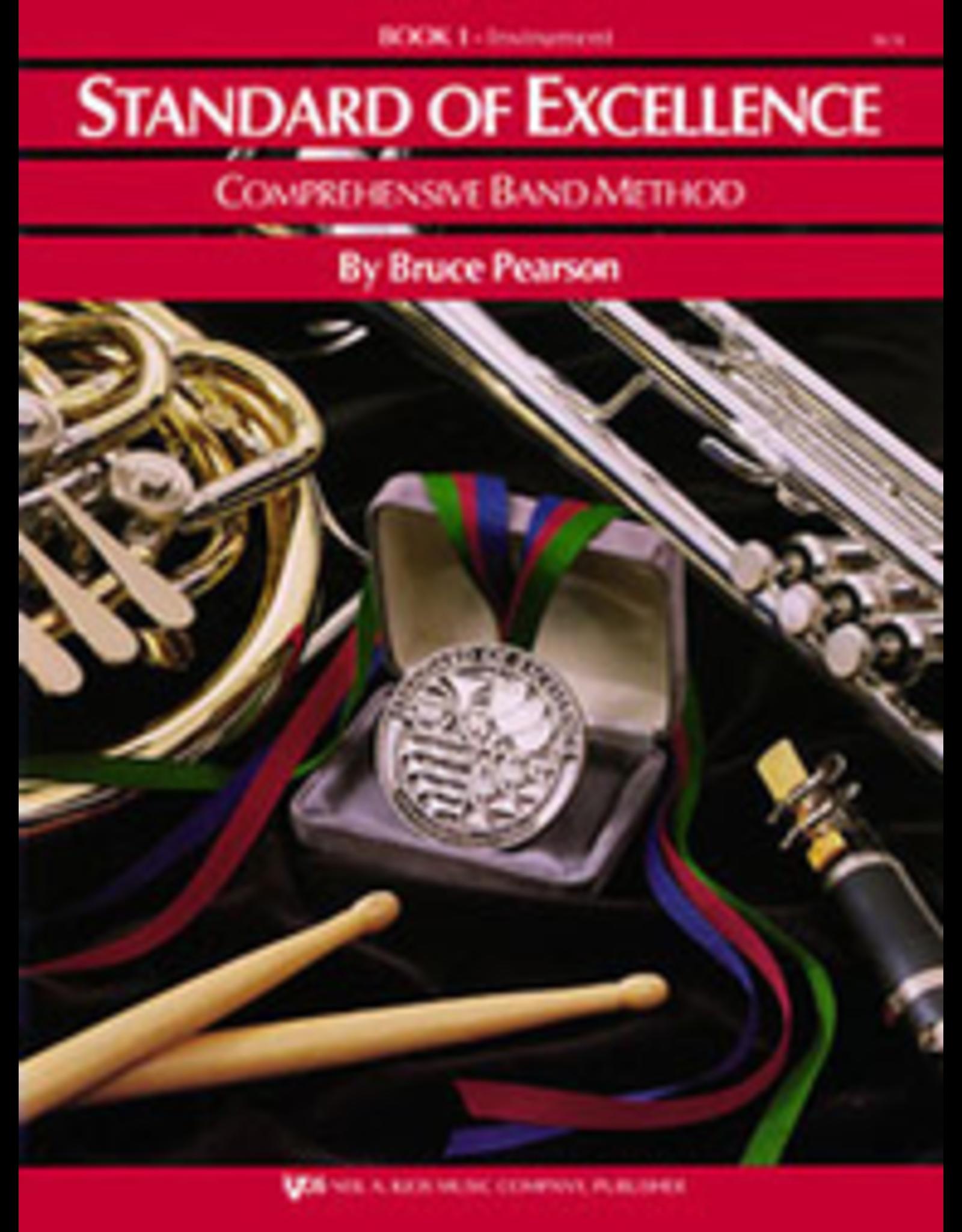 Kjos Standard of Excellence Book 1 Oboe