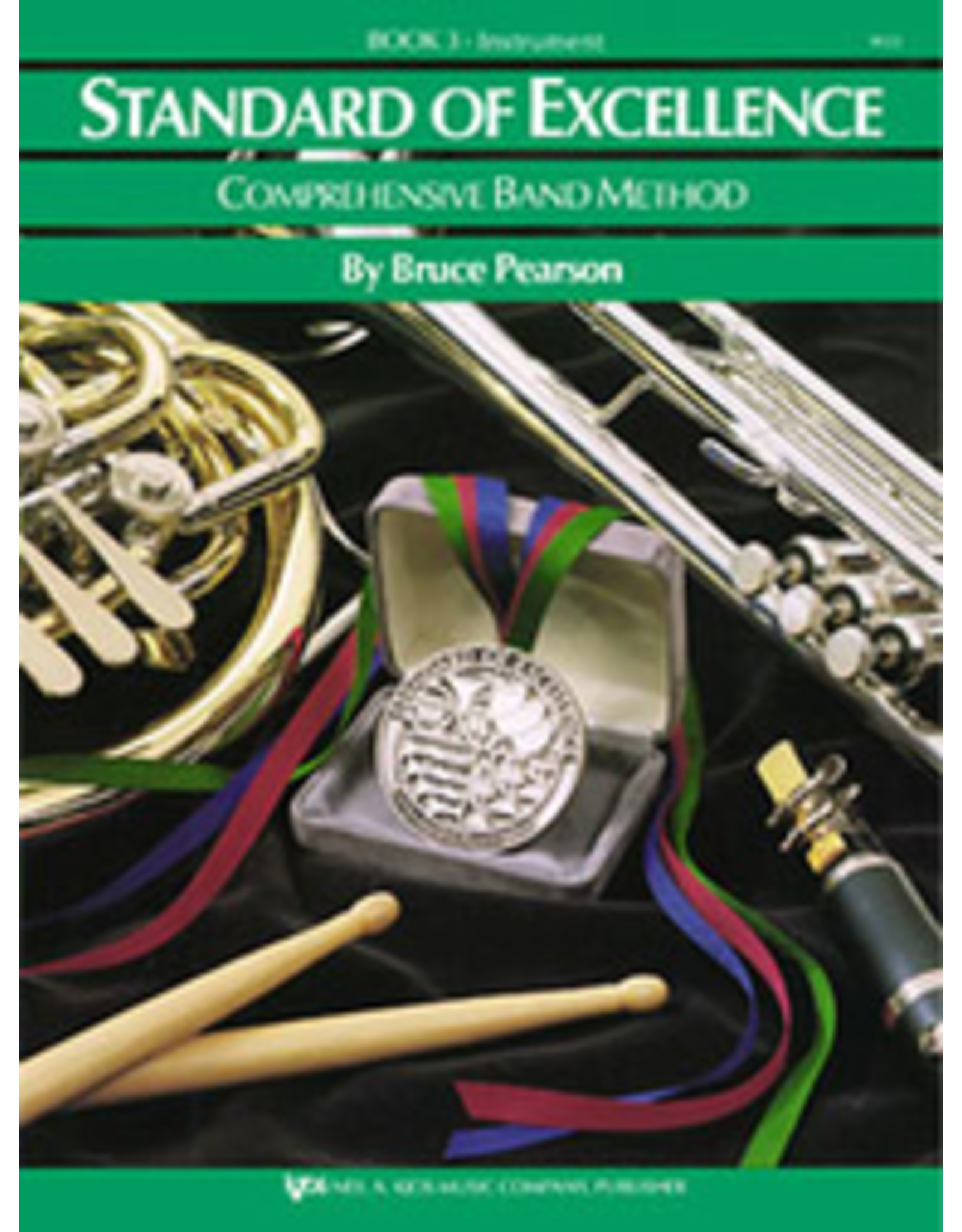 Kjos Standard of Excellence Book 3 Baritone B.C.