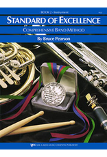 Kjos Standard of Excellence Book 2 Timpani & Auxiliary Percussion