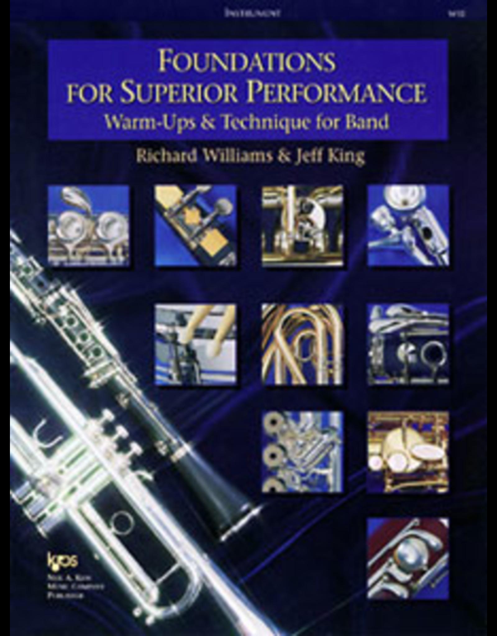 Kjos Foundations for Superior Performance, Baritone Sax