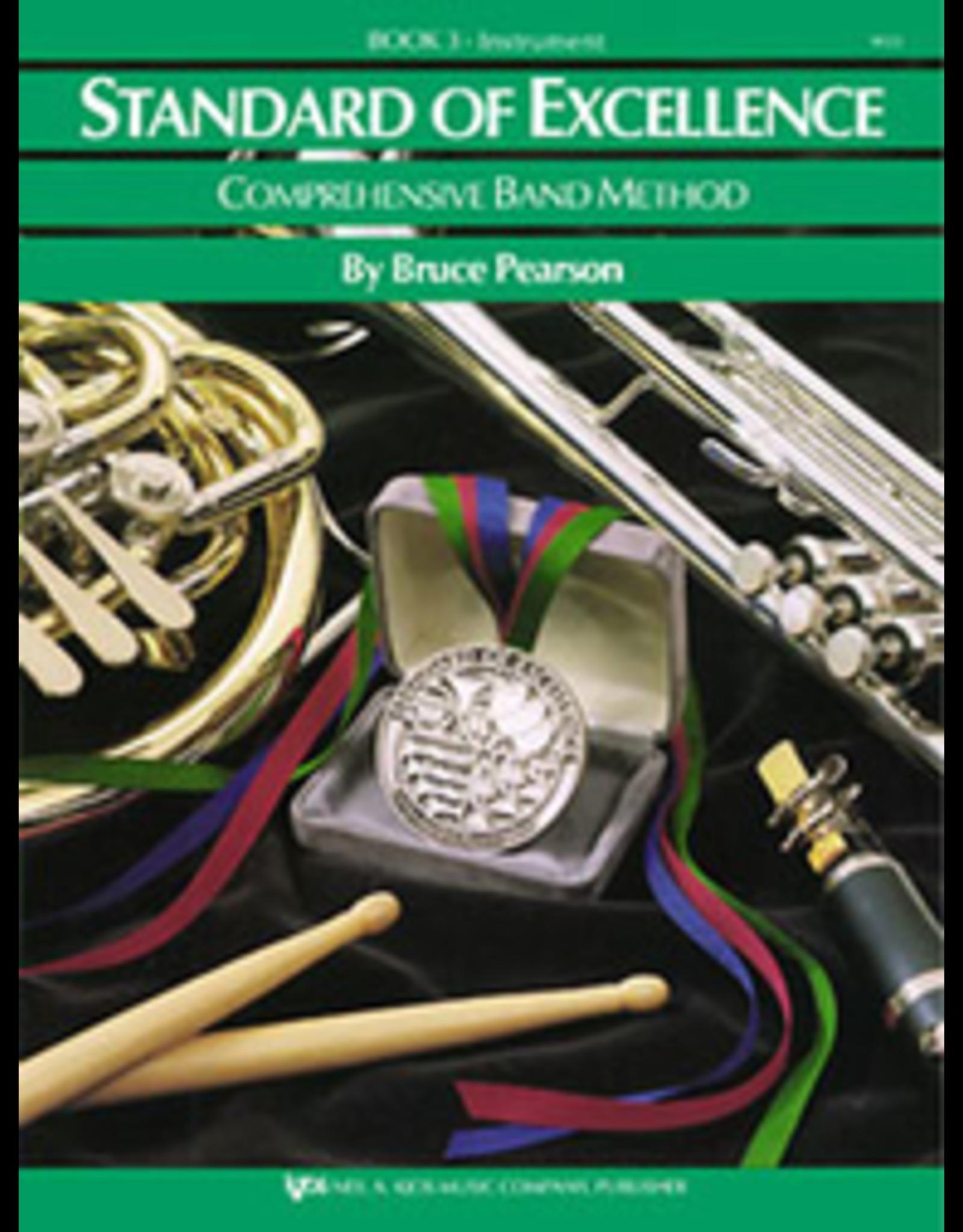 Kjos Standard of Excellence Book 3 Bari Sax