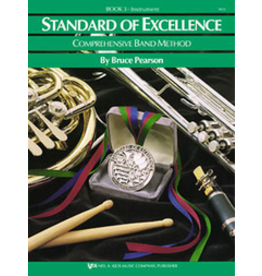 Kjos Standard of Excellence Book 3 Bari Sax