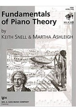 Kjos Fundamentals of Piano Theory, Level 5 Keith Snell