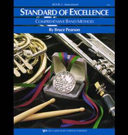 Kjos Standard of Excellence Book 2 Alto Clarinet