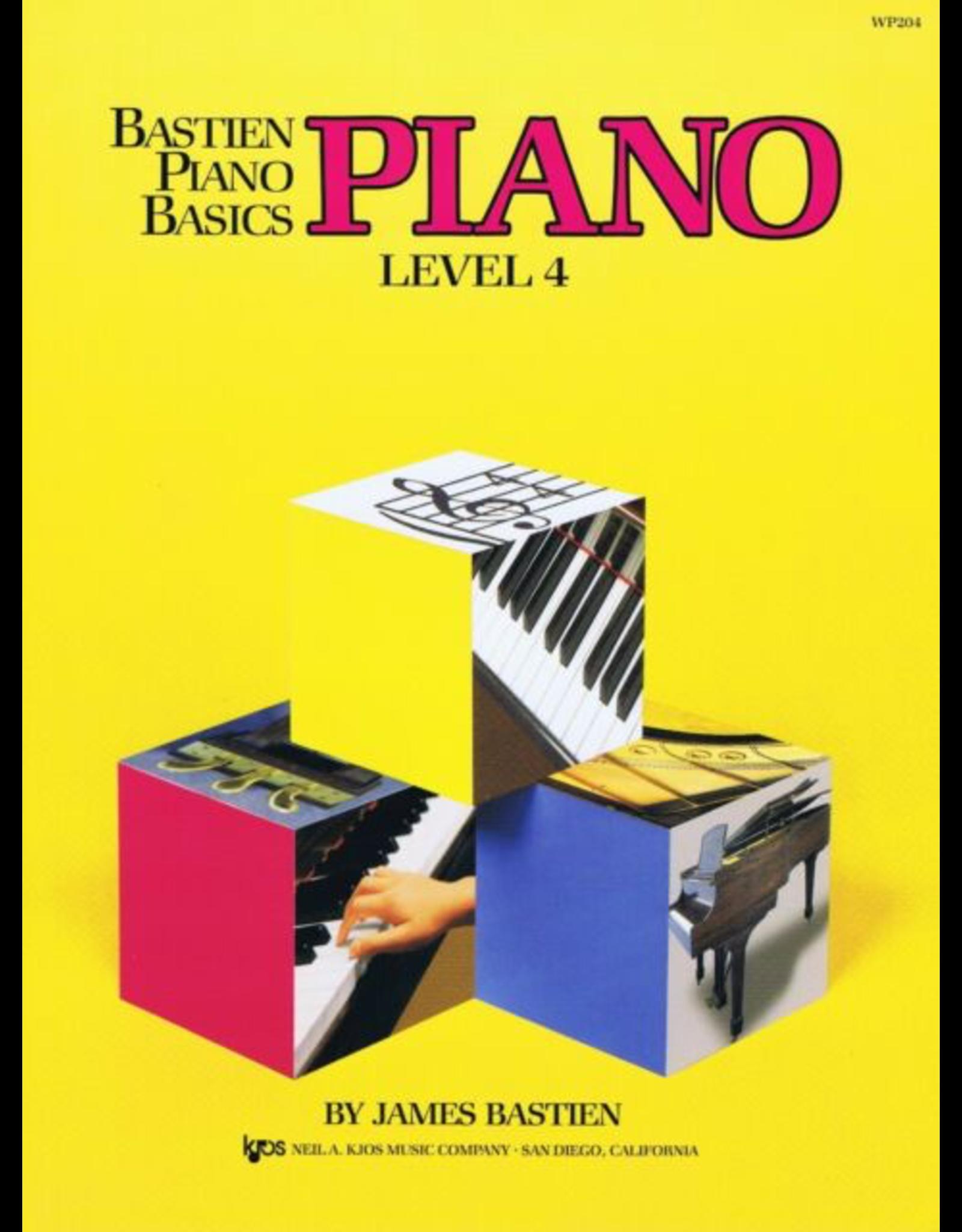 Kjos Bastien Piano Basics Piano Level 4 *