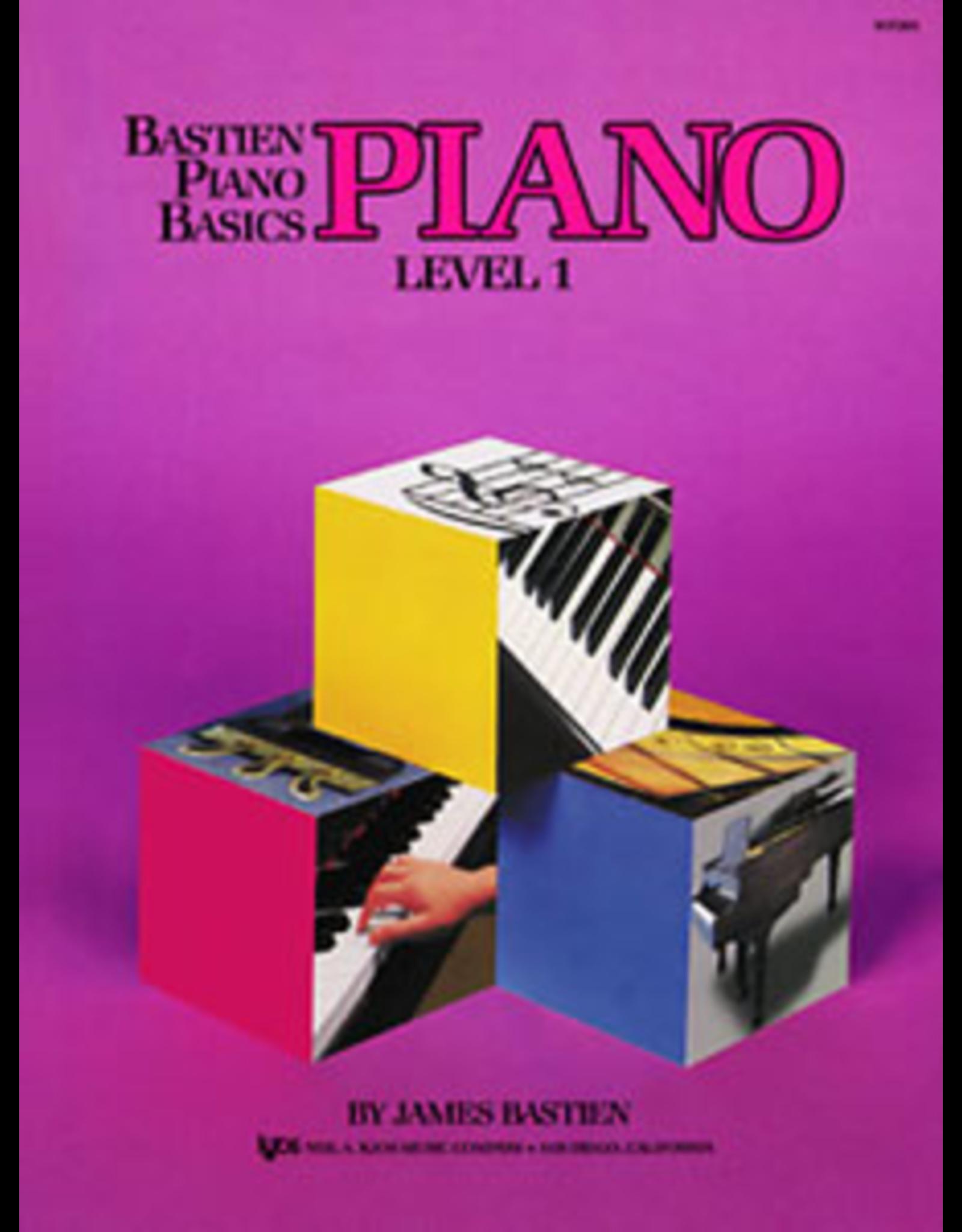 Kjos Bastien Piano Basics Piano Level 1 *
