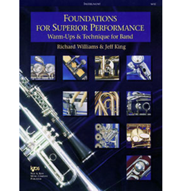 Kjos Foundations for Superior Performance, Percussion