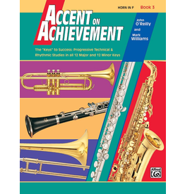 Alfred Accent on Achievement Book 3, Horn in F (French Horn)