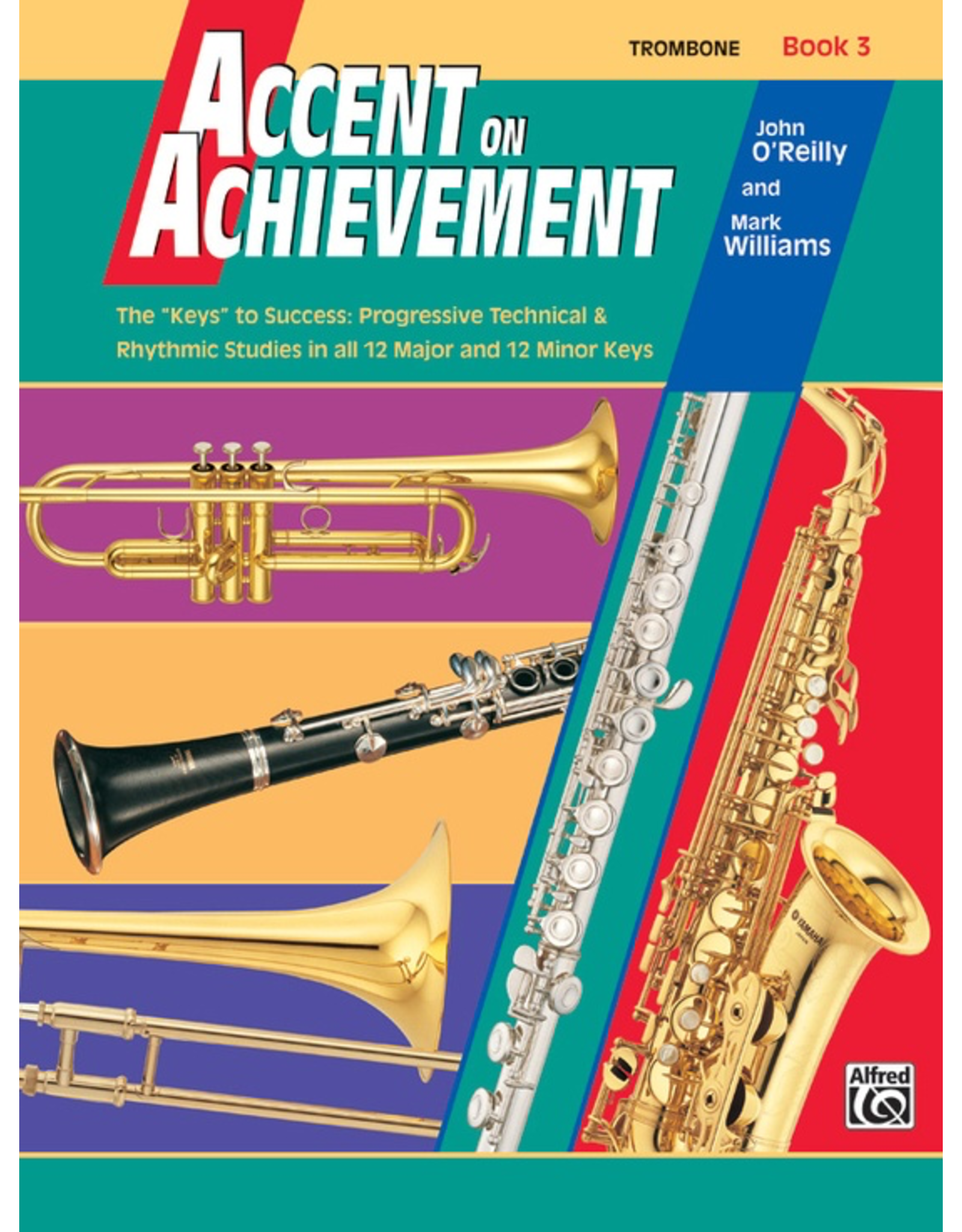 Alfred Accent on Achievement Book 3, Trombone