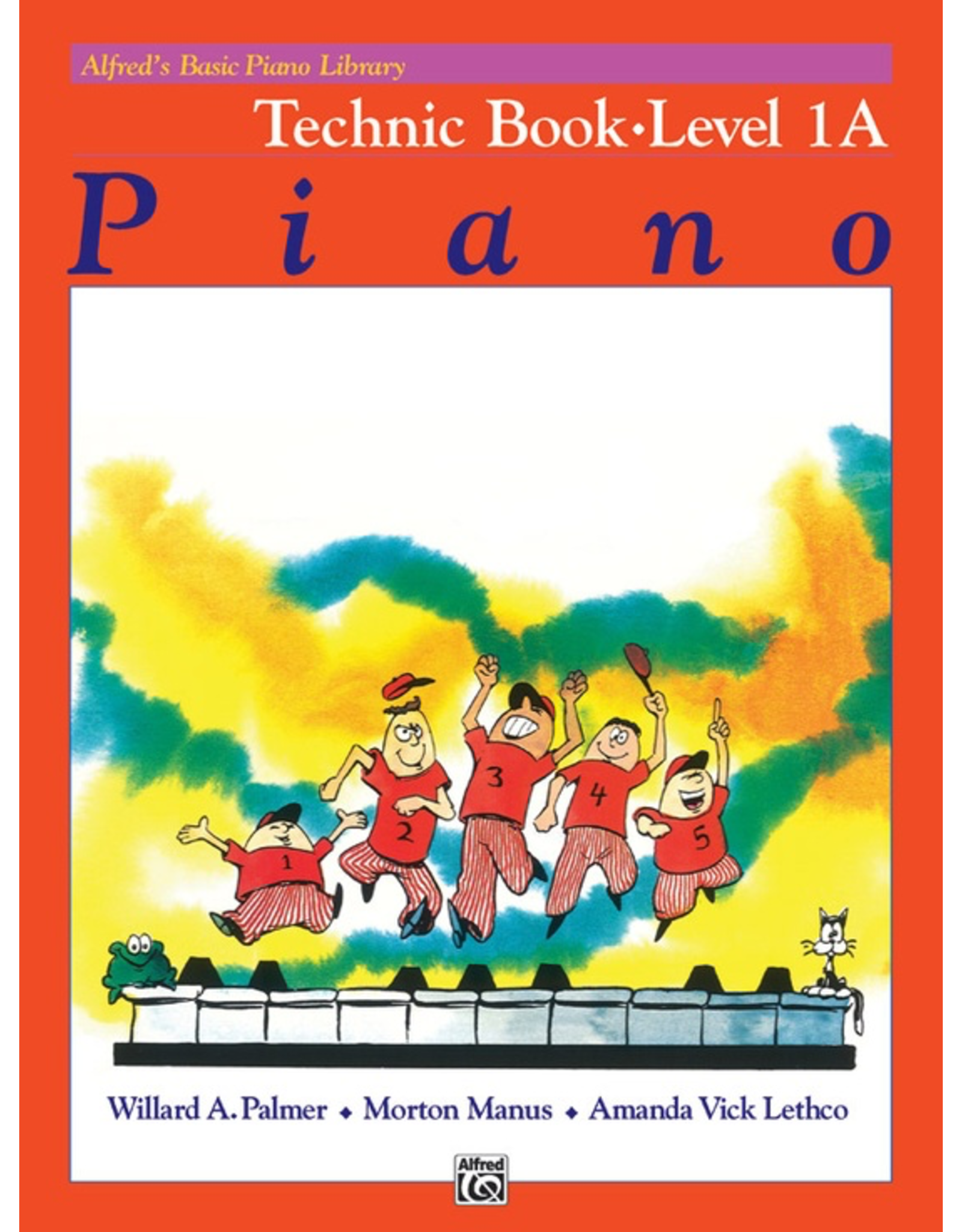Alfred Alfred's Basic Piano Library Technic Book Level 1A * #