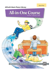 Alfred Alfred's Basic Piano Library All In One Course, Book 5
