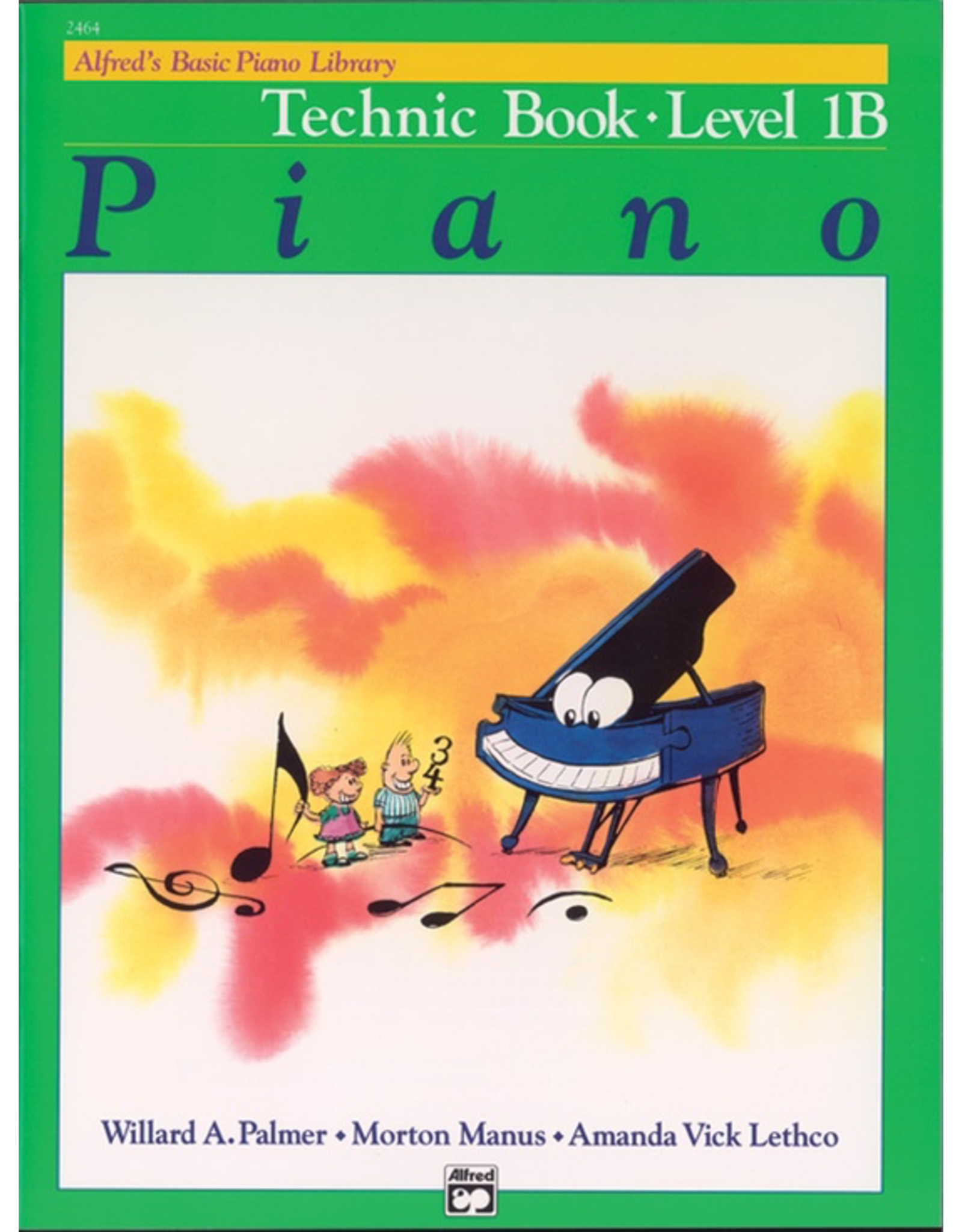 Alfred Alfred's Basic Piano Library Technic Book Level 1B *