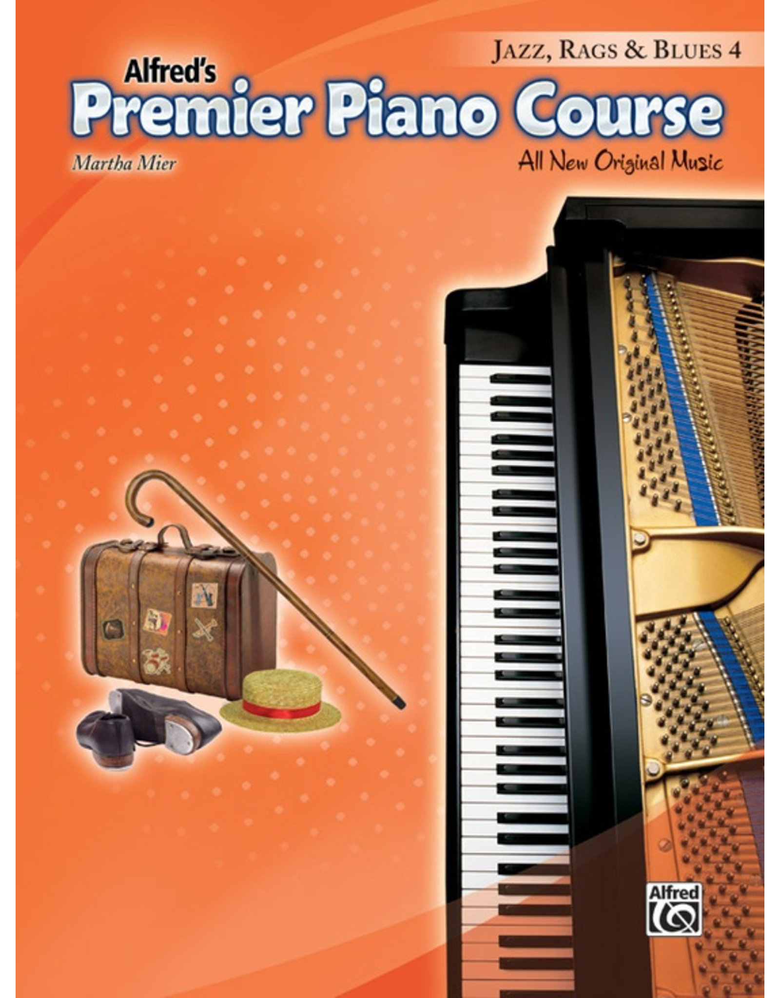Alfred Alfred's Premier Piano Course Jazz, Rags & Blues 4