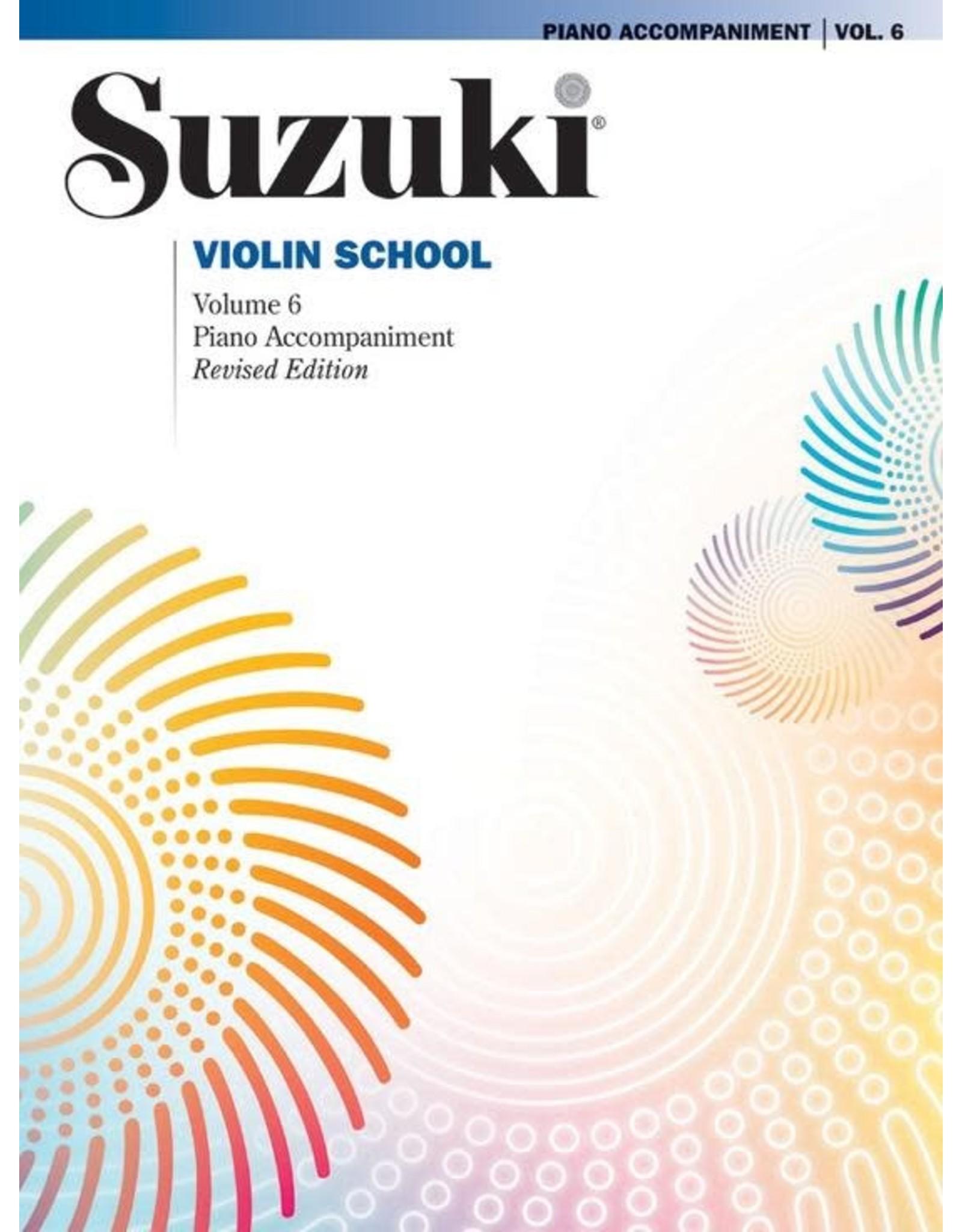 Alfred Suzuki Violin School Volume 6 Piano Accompaniment (Revised)