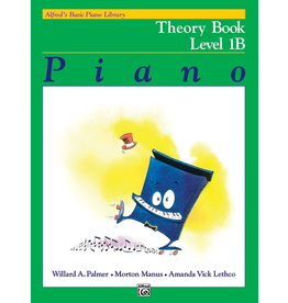 Alfred Alfred's Basic Piano Library Theory Book Level 1B *