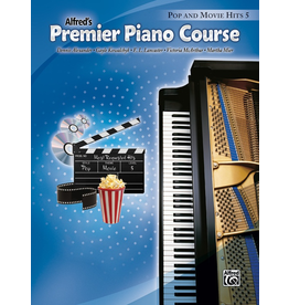 Alfred Alfred's Premier Piano Course Pop and Movie Hits Book 5
