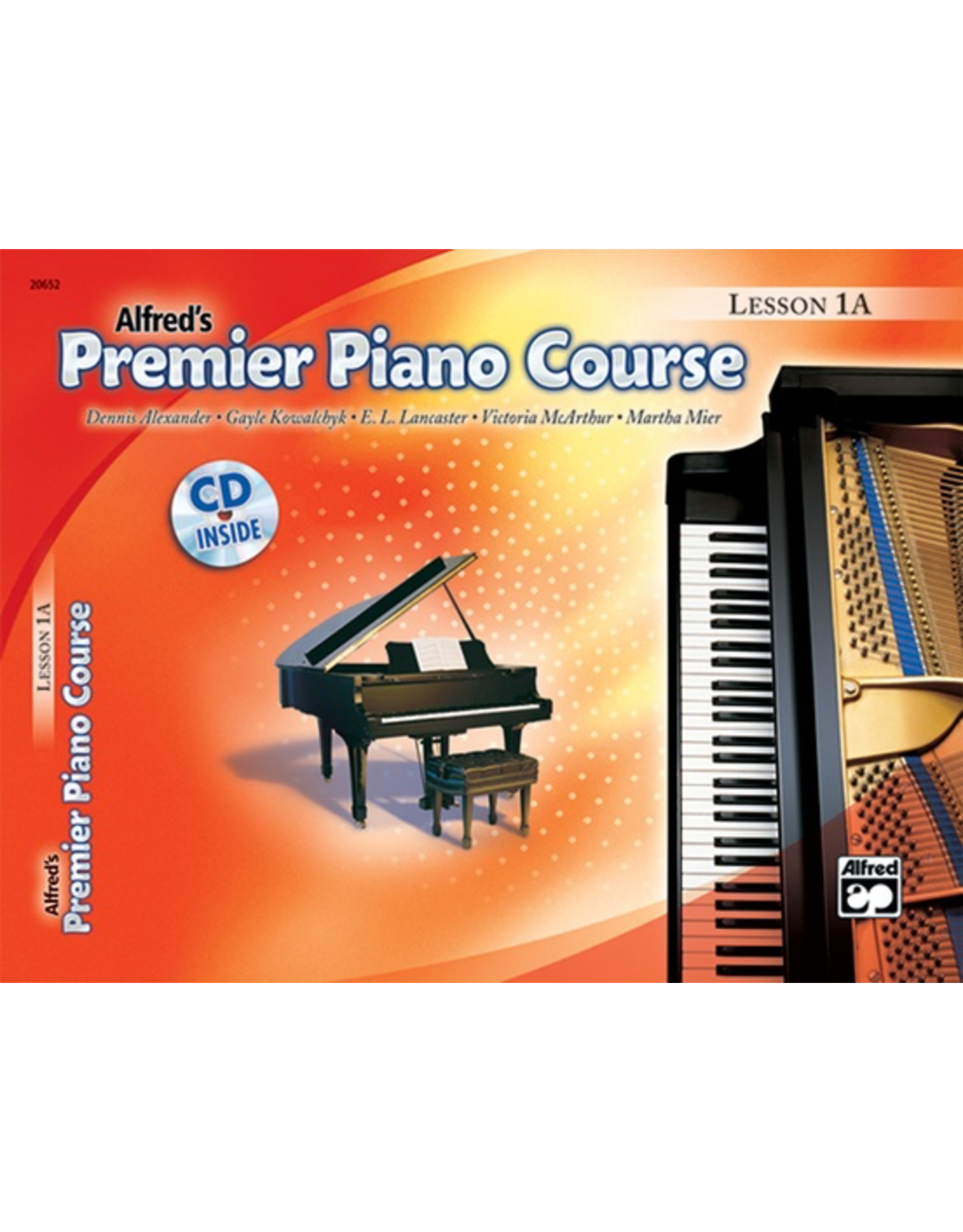 Alfred Alfred's Premier Piano Course Lesson Book 1A CD Included