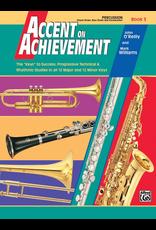 Alfred Accent on Achievement Book 3, Percussion