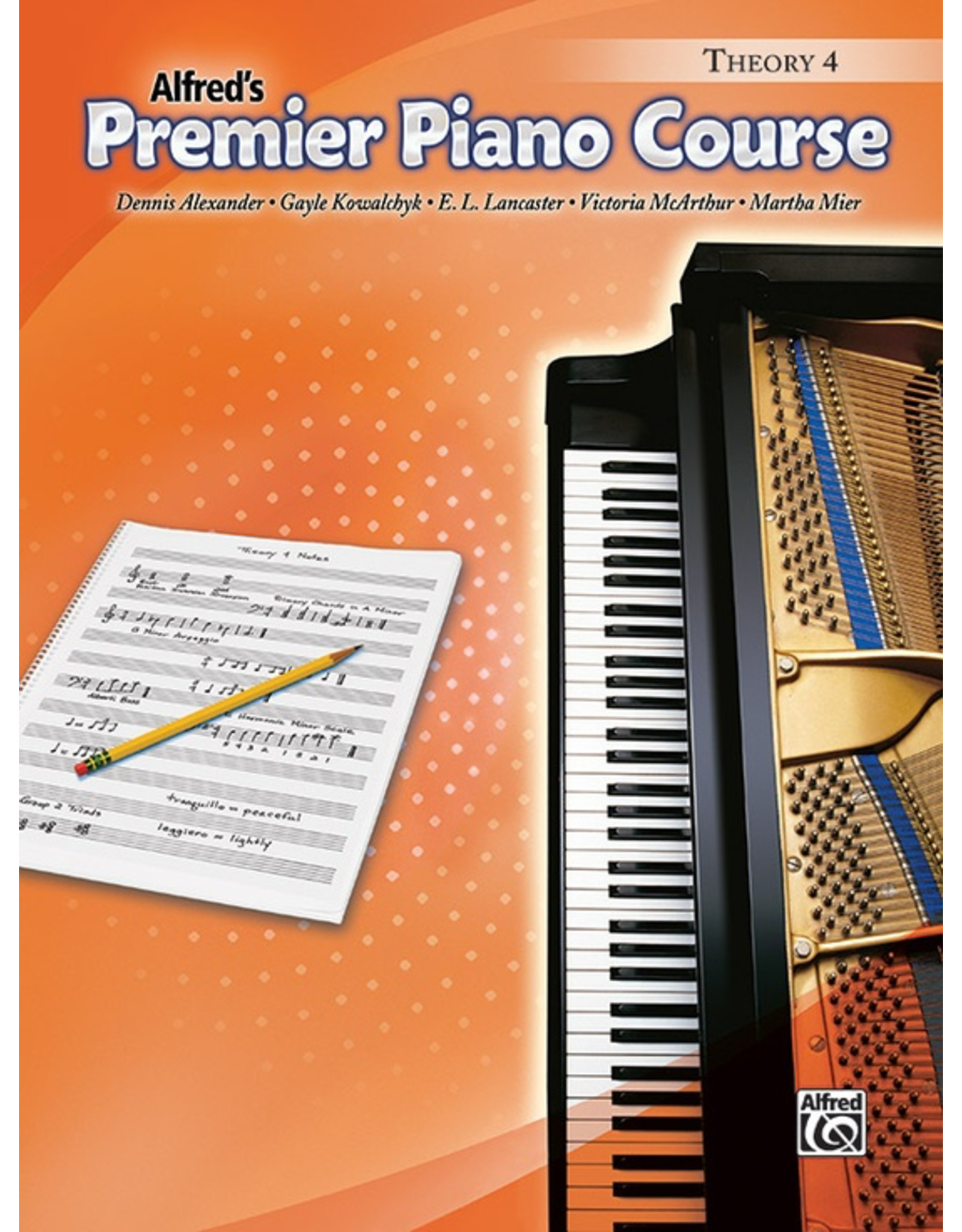 Alfred Alfred's Premier Piano Course Theory Book 4