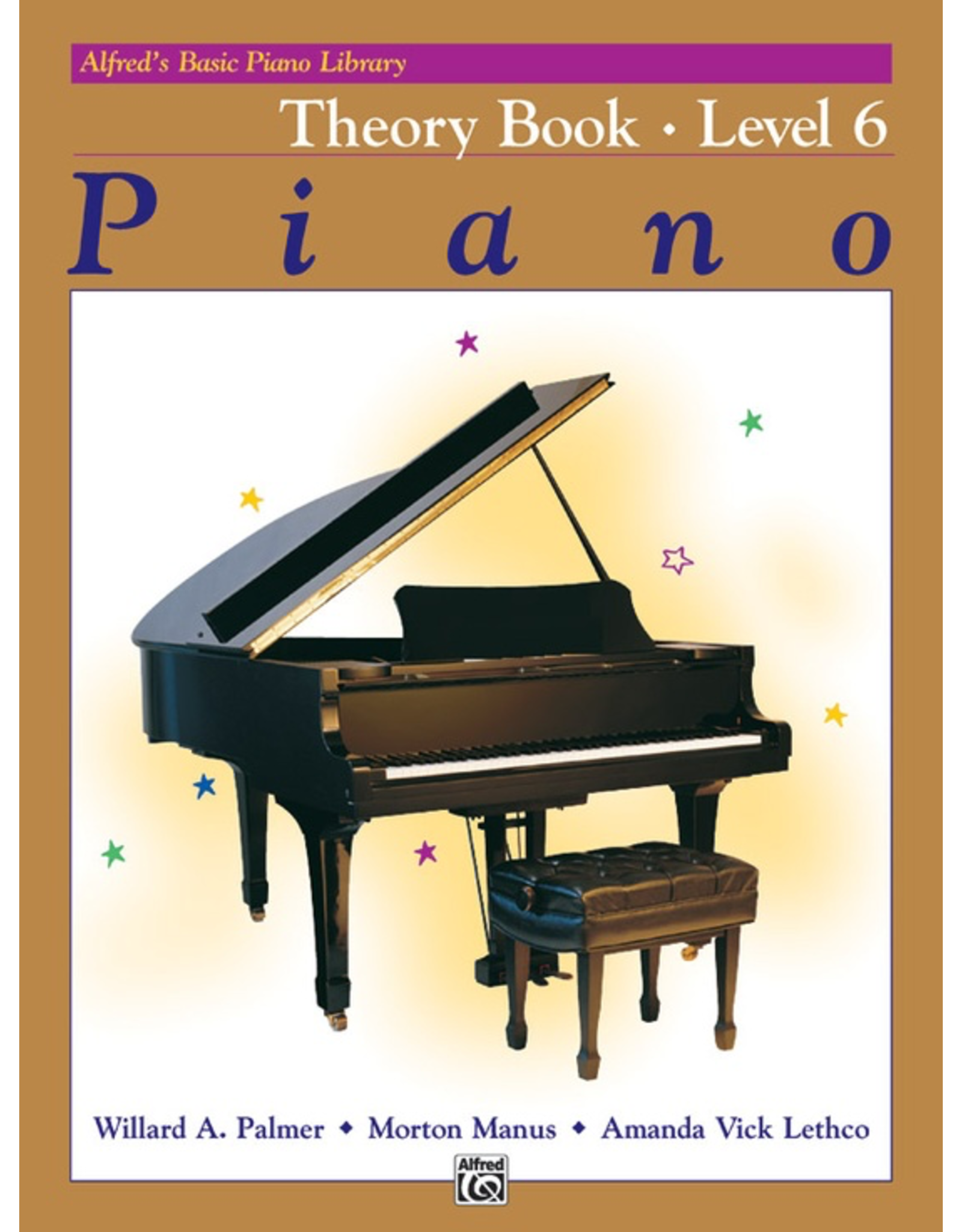 Alfred Alfred's Basic Piano Library Theory Book Level 6 *