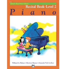 Alfred Alfred's Basic Piano Library Recital Book Level 2 *