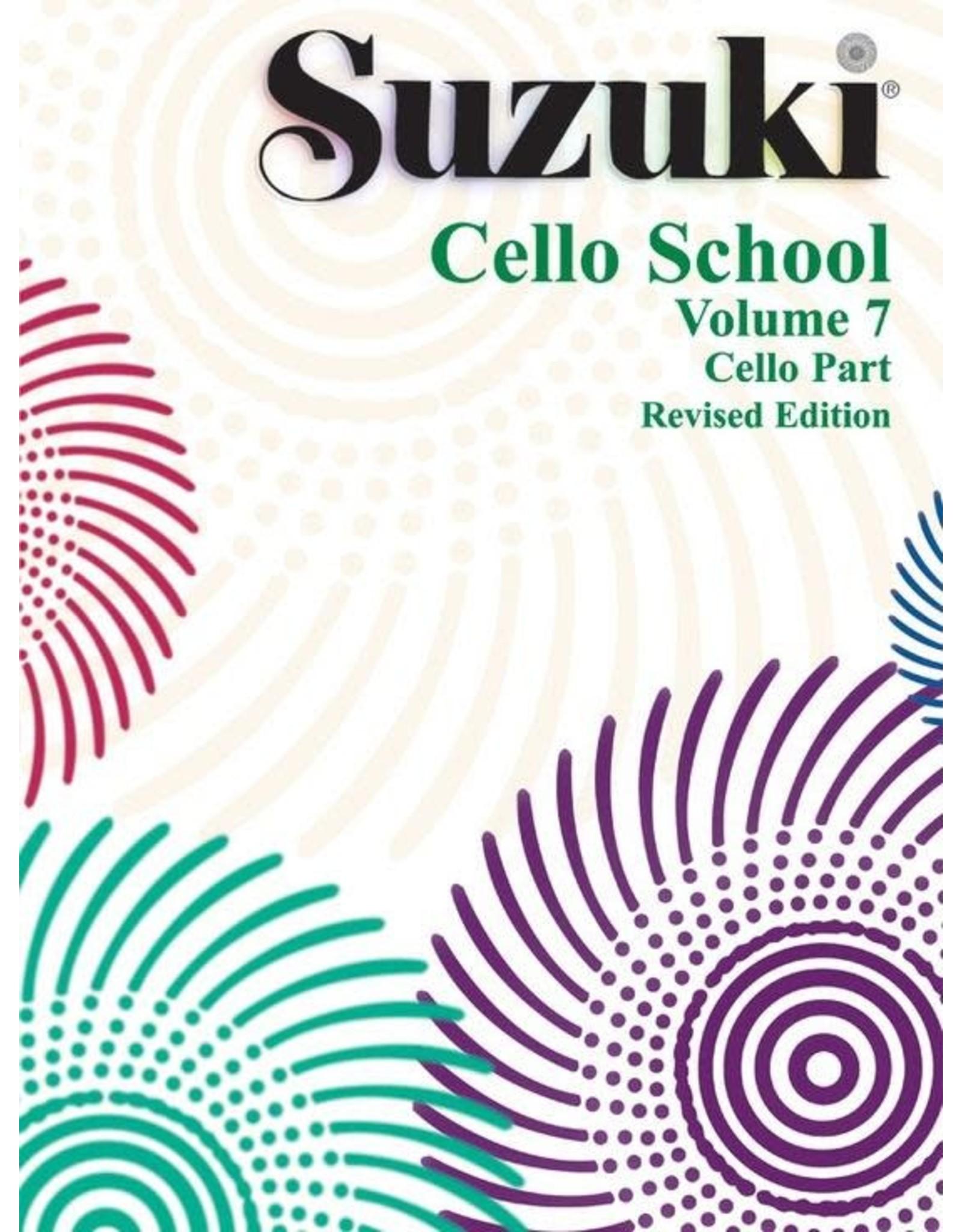 Alfred Suzuki Cello School Volume 7 (Revised Edition)