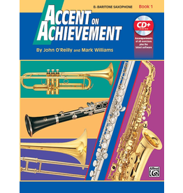 Alfred Accent on Achievement Book 1 with CD, Bari Sax
