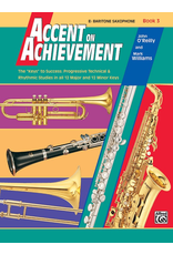 Alfred Accent on Achievement Book 3, Bari Sax