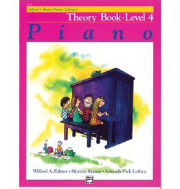 Alfred Alfred's Basic Piano Library Theory Book Level 4 *