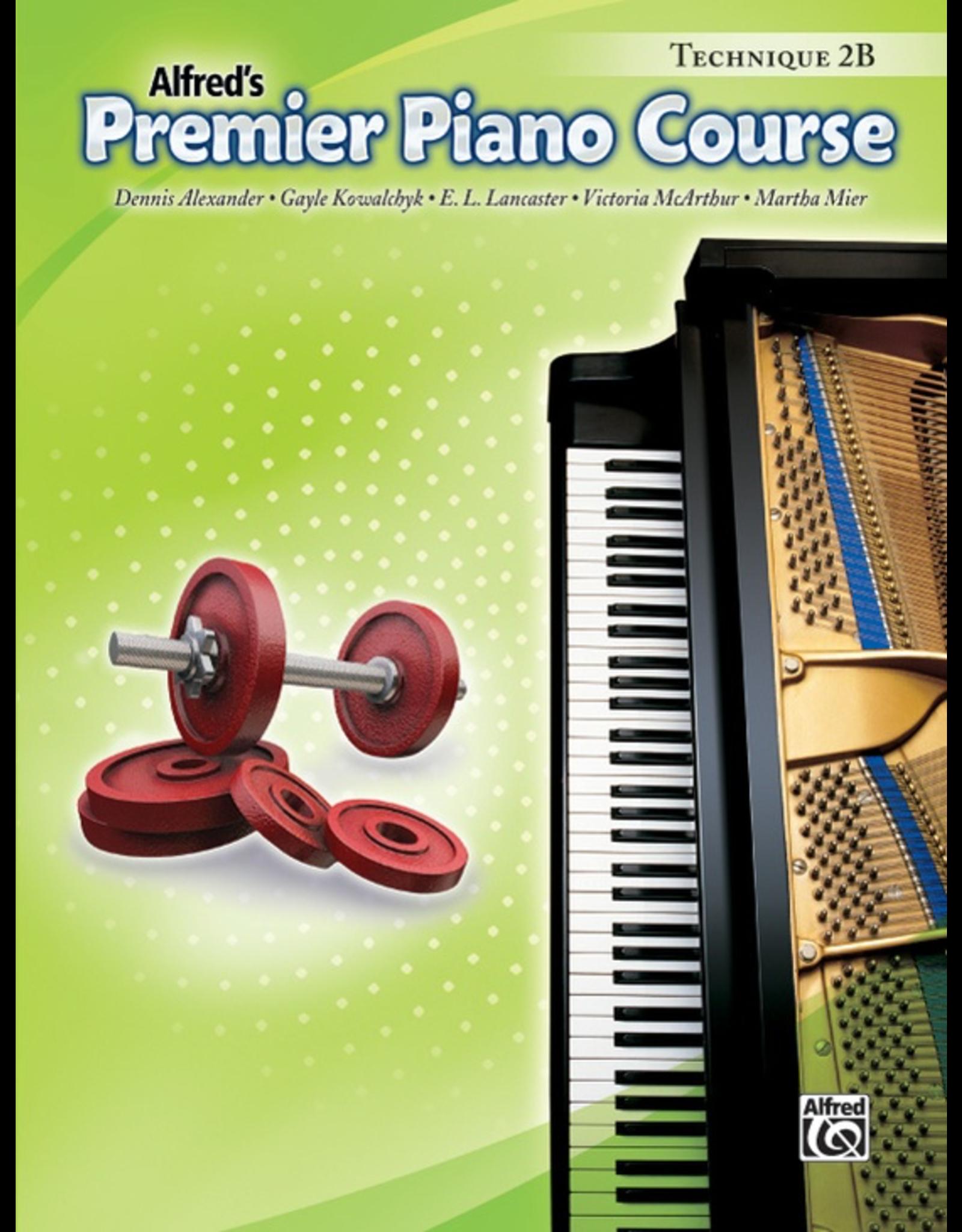 Alfred Alfred's Premier Piano Course Technique Book 2B