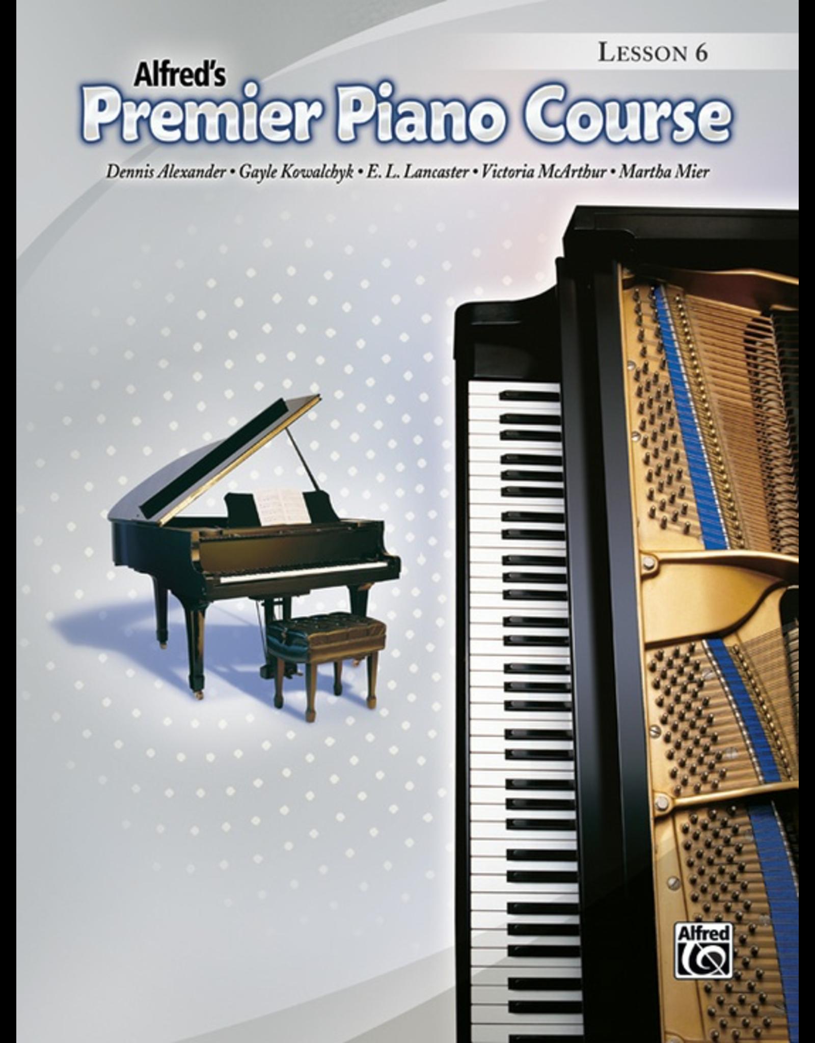 Alfred Alfred's Premier Piano Course Lesson Book 6