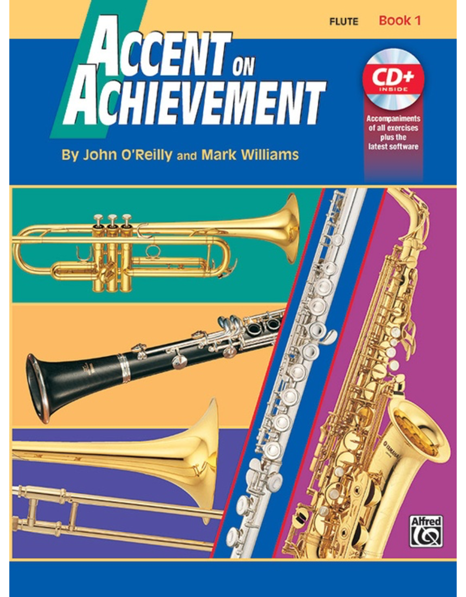 Alfred Accent on Achievement Book 1 with CD, Flute