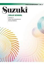 Alfred Suzuki Cello School Volume 8 Piano Acc. Revised Edition
