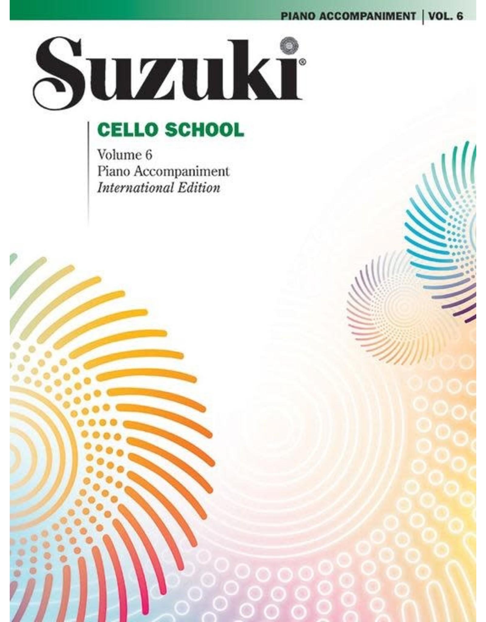 Alfred Suzuki Cello School Volume 6 Piano Acc. Revised Edition