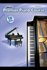 Alfred Alfred's Premier Piano Course Lesson Book 3 CD Included