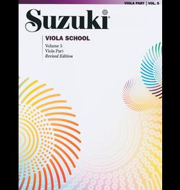 Alfred Suzuki Viola School Viola Part Volume 5 Revised Edition