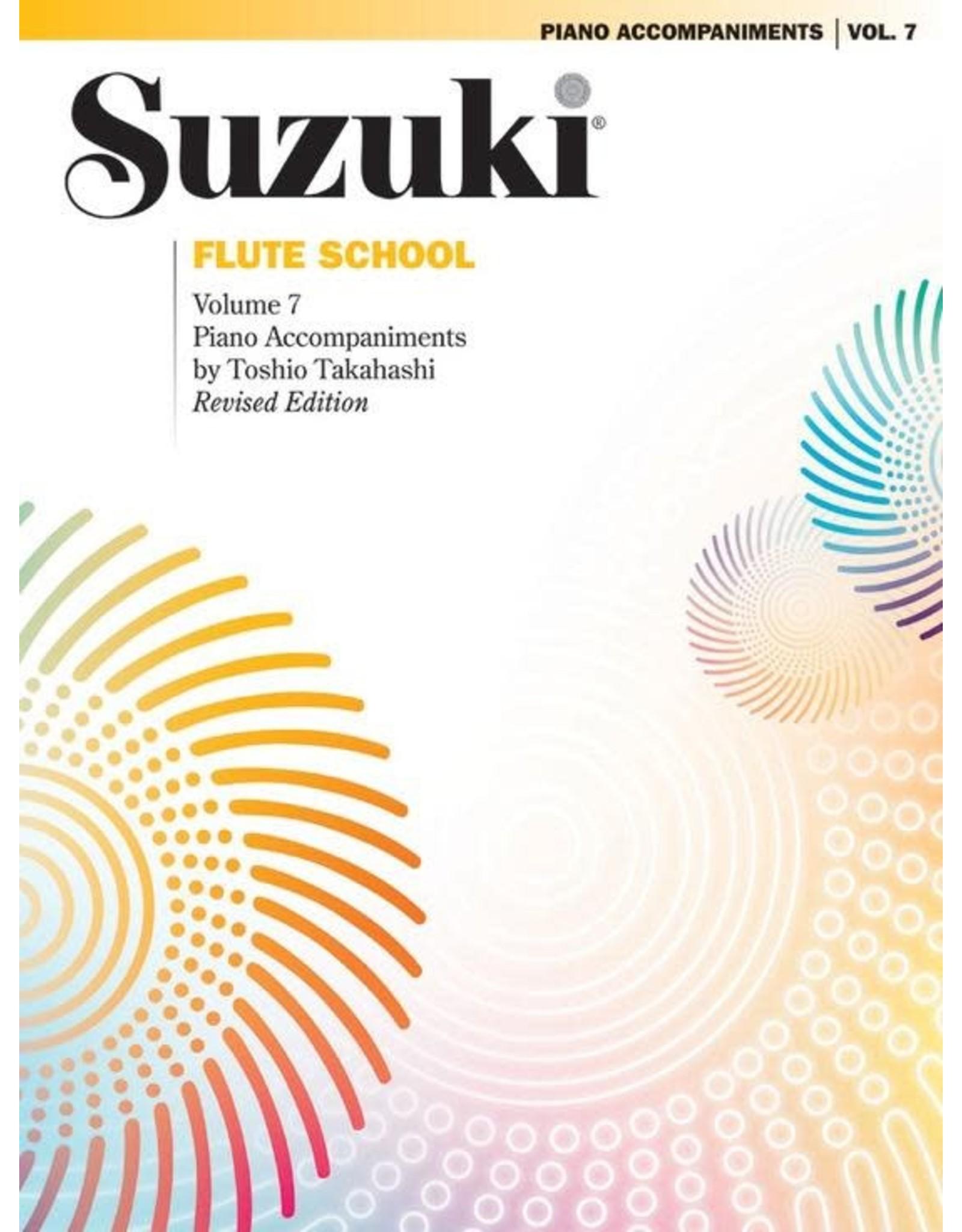 Alfred Suzuki Flute School Piano Acc. Volume 7