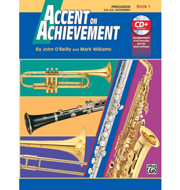 Alfred Accent on Achievement Book 1 with CD, Percussion