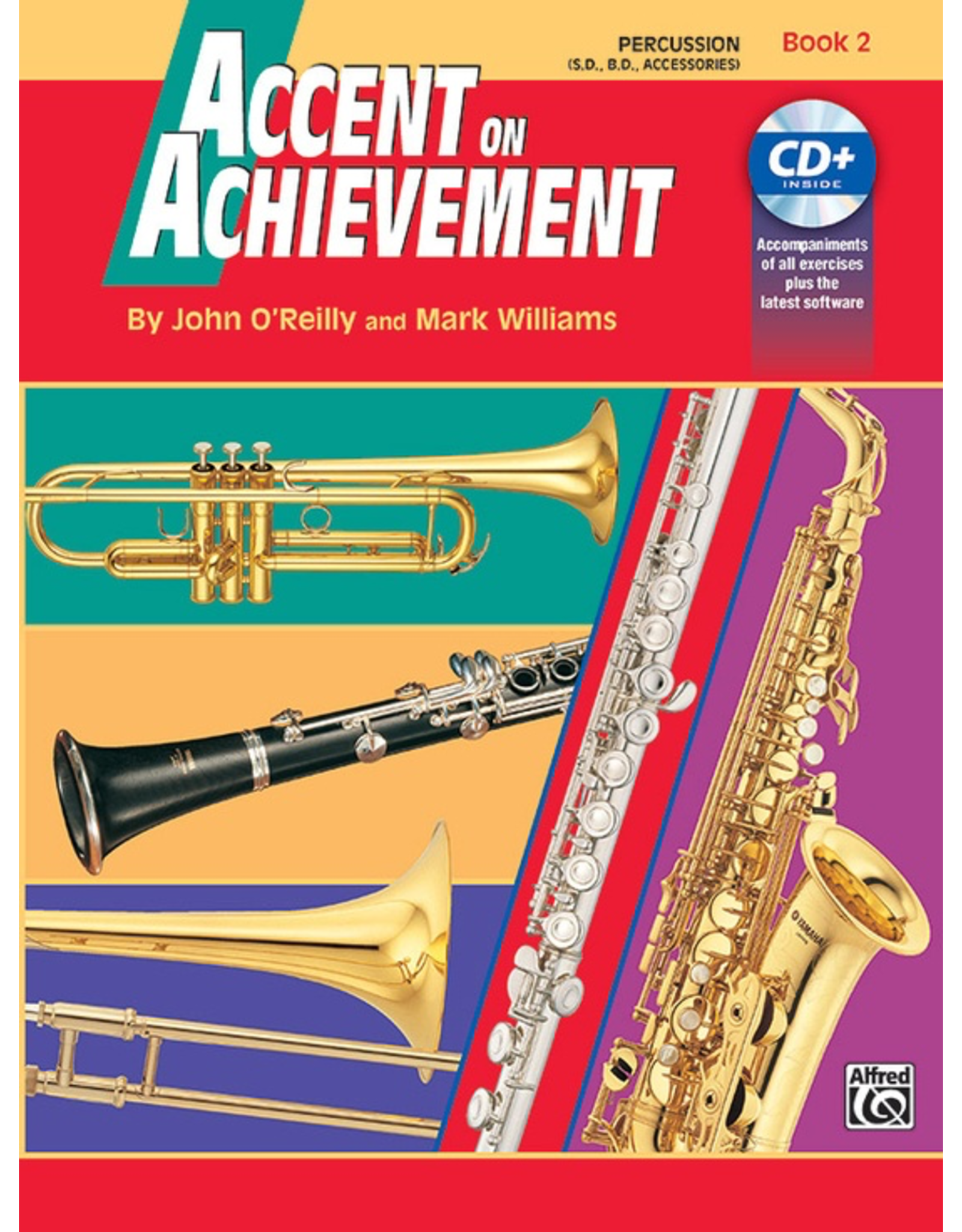 Alfred Accent on Achievement Book 2 with CD, Percussion