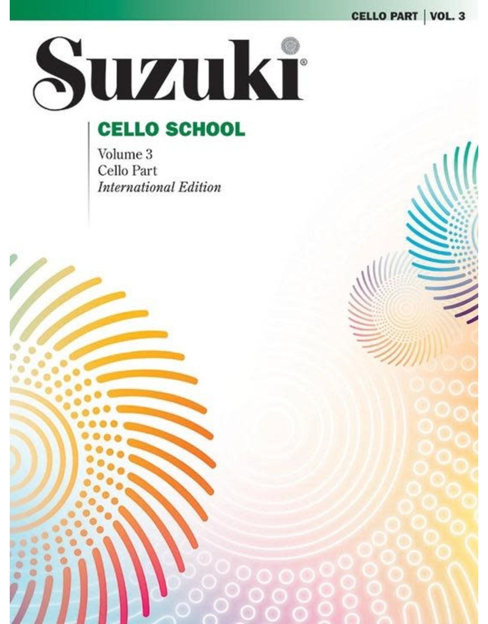 Alfred Suzuki Cello School Volume 3 Revised Edtion