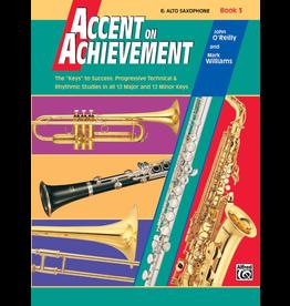 Alfred Accent on Achievement Book 3, Alto Sax
