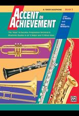 Alfred Accent on Achievement Book 3, Tenor Sax