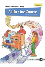 Alfred Alfred's Basic Piano Library All In One Course, Book 4