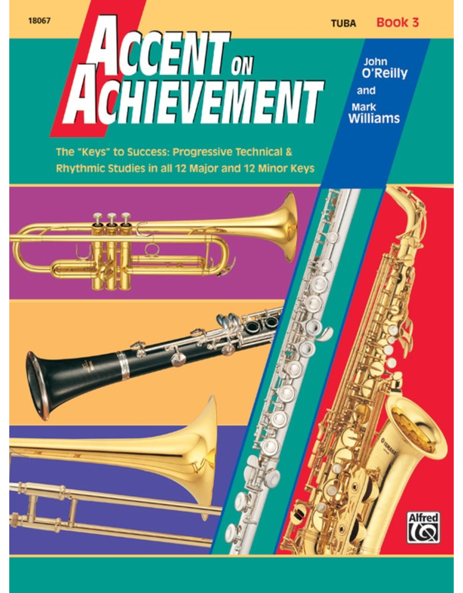Alfred Accent on Achievement Book 3, Tuba