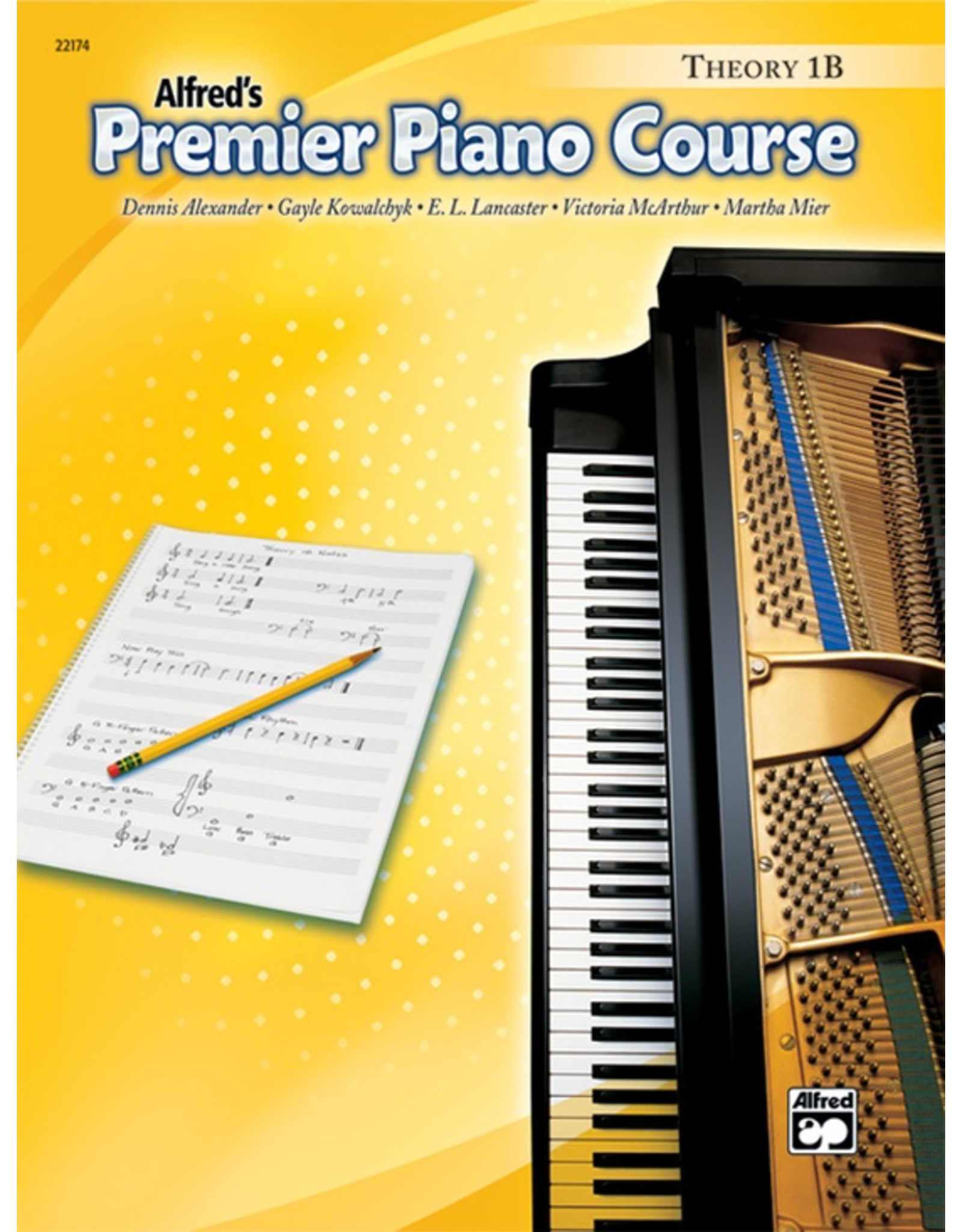 Alfred Alfred's Premier Piano Course Theory Book 1B