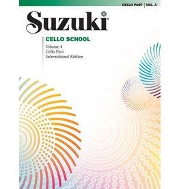 Alfred Suzuki Cello School Volume 4 Revised Edition