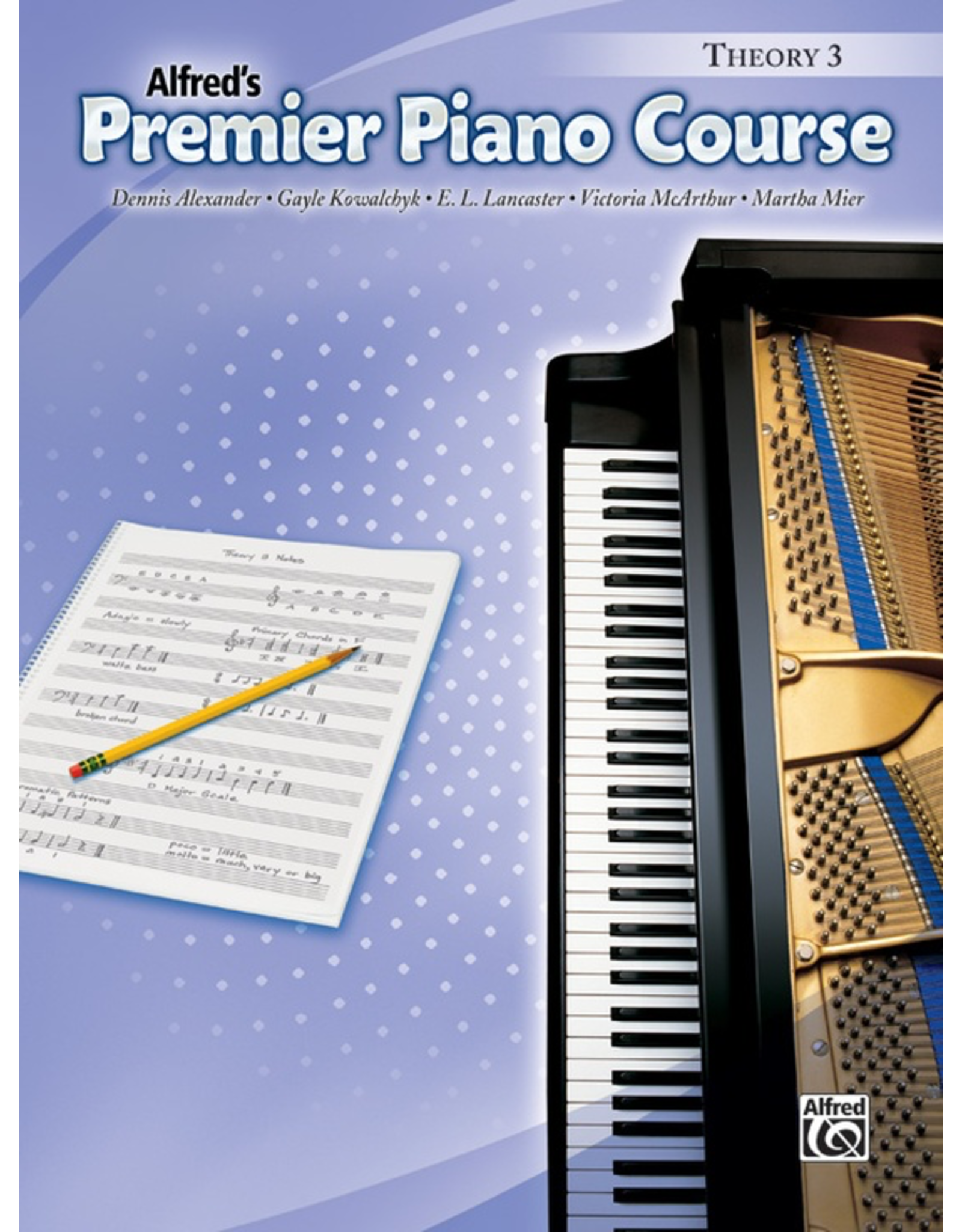 Alfred Alfred's Premier Piano Course Theory Book 3